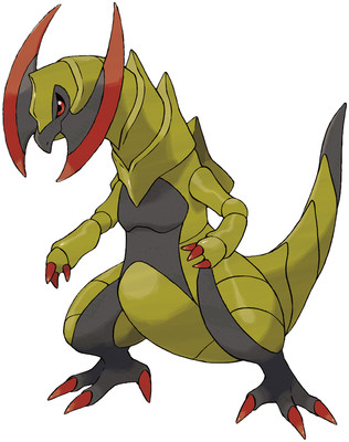 Pokemon Battle Haxorus