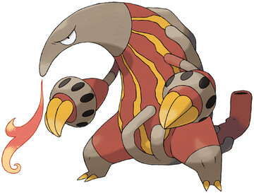 Heatmor artwork by Ken Sugimori