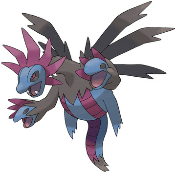 Hydreigon artwork by Ken Sugimori