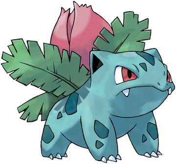 Ivysaur artwork by Ken Sugimori