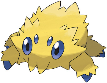 Joltik artwork by Ken Sugimori