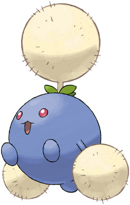 Jumpluff artwork by Ken Sugimori