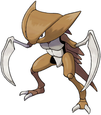 Kabutops artwork by Ken Sugimori