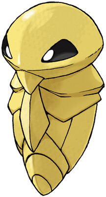Kakuna artwork by Ken Sugimori