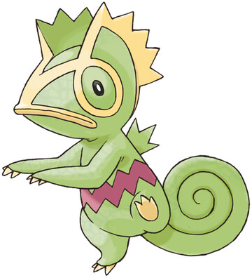 Kecleon artwork by Ken Sugimori