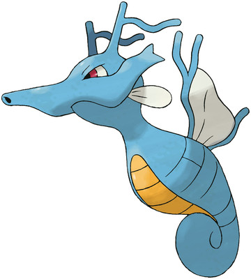 Kingdra artwork by Ken Sugimori