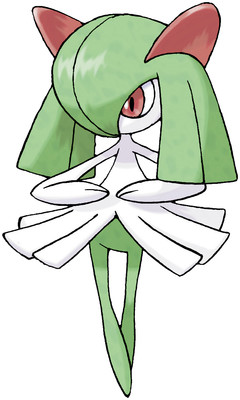 Kirlia artwork by Ken Sugimori