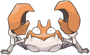 Krabby artwork by Ken Sugimori