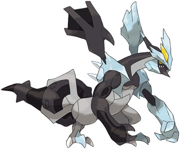 Kyurem (Black Kyurem) artwork by Ken Sugimori