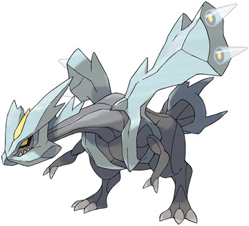 Kyurem (Kyurem) artwork by Ken Sugimori