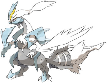 Kyurem (White Kyurem) artwork by Ken Sugimori