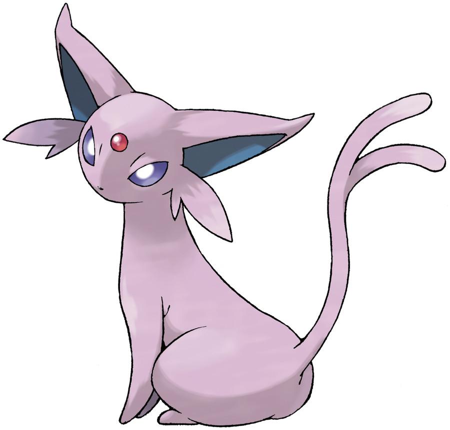 Espeon Pokédex: stats, moves, evolution & locations | Pokémon Database