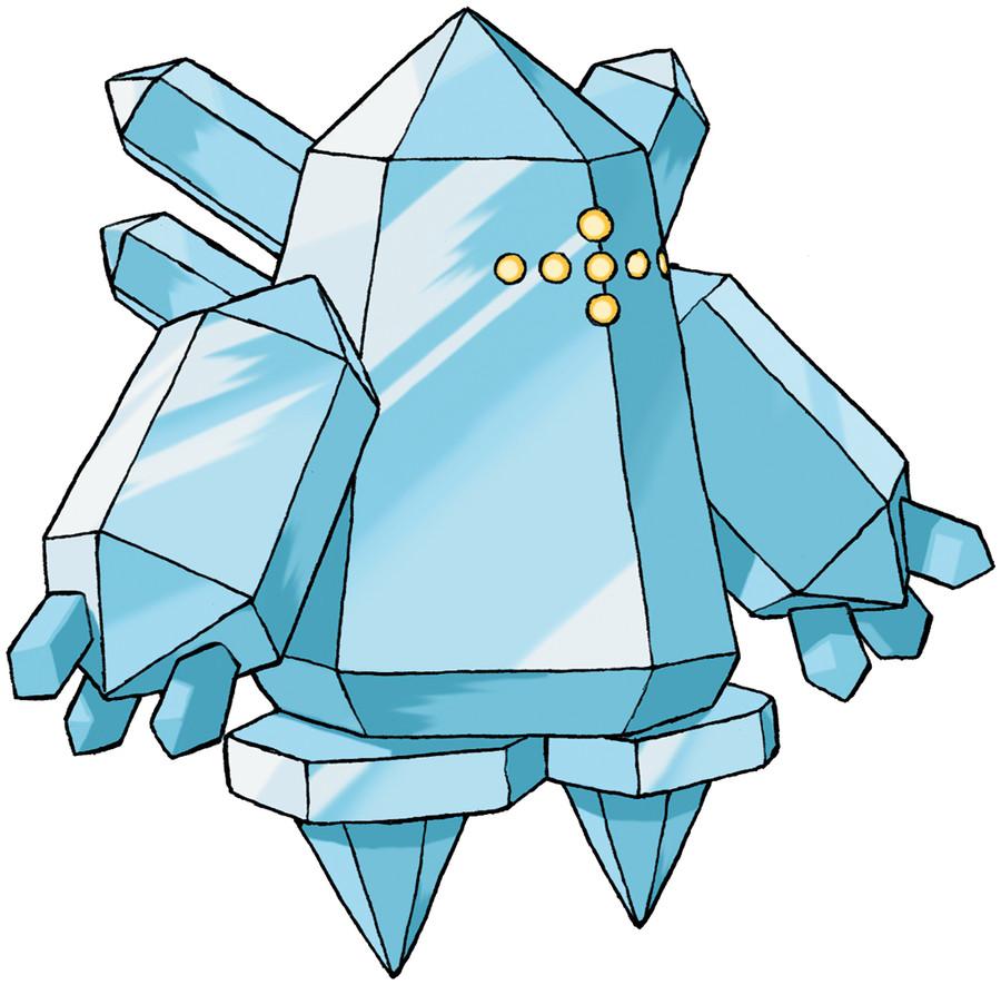 Regice Pokédex: stats, moves, evolution & locations | Pokémon Database