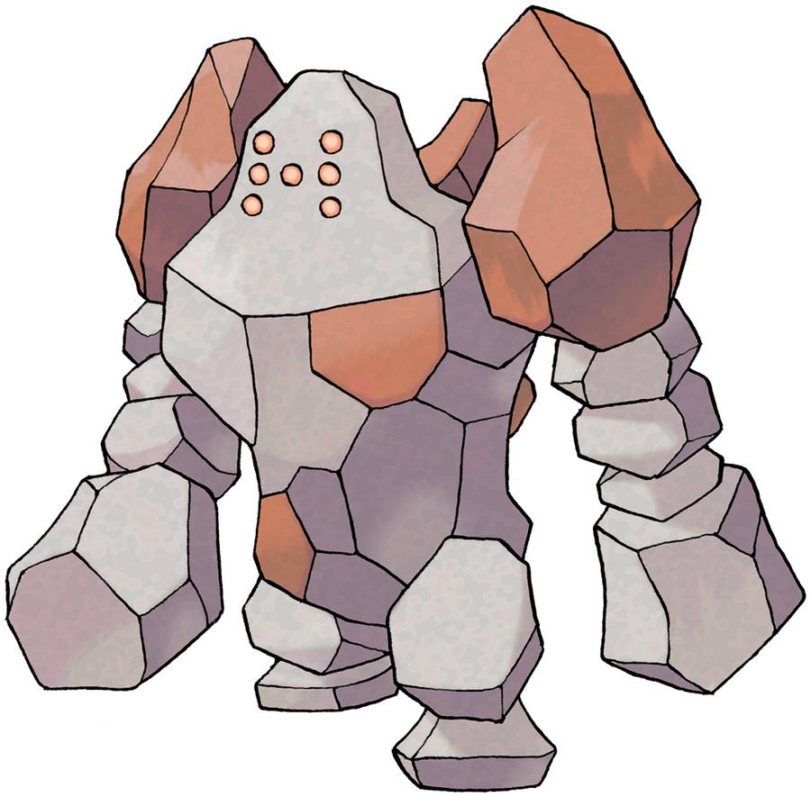 Regirock Pokédex: stats, moves, evolution & locations | Pokémon ...