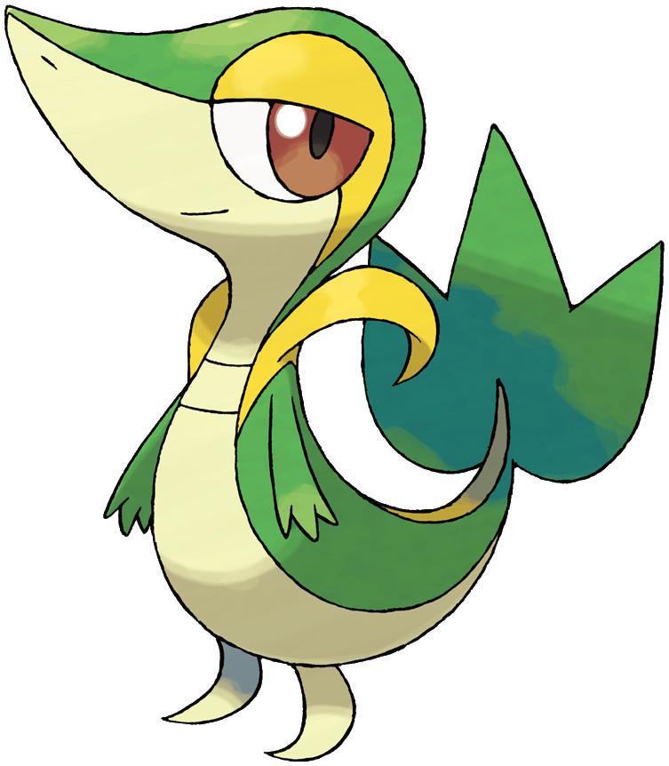 Snivy Pokédex: stats, moves, evolution & locations | Pokémon Database