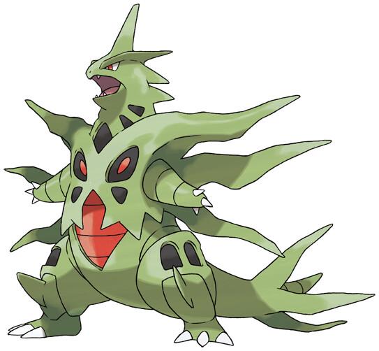 Tyranitar Pokédex Stats Moves Evolution Locations Pokémon