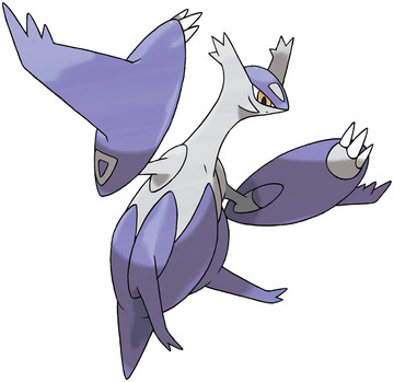 Latias (Mega Latias) artwork by Ken Sugimori