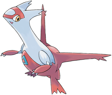 Latias artwork by Ken Sugimori