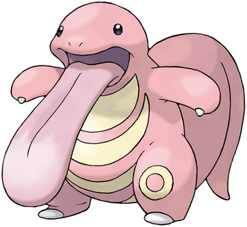 Lickitung artwork by Ken Sugimori