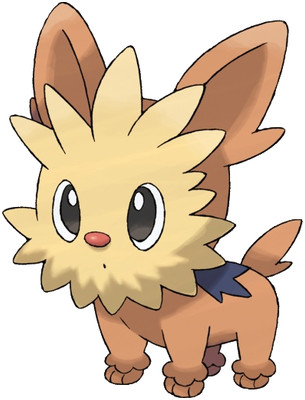 Lillipup artwork by Ken Sugimori