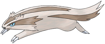 Linoone artwork by Ken Sugimori