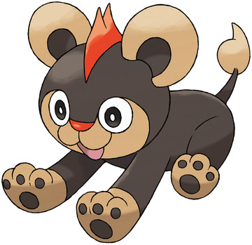 Litleo artwork by Ken Sugimori