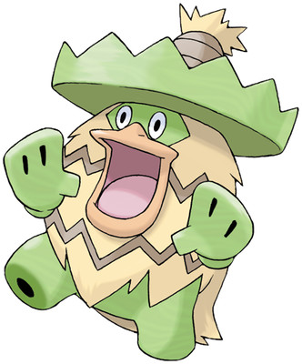 Ludicolo artwork by Ken Sugimori