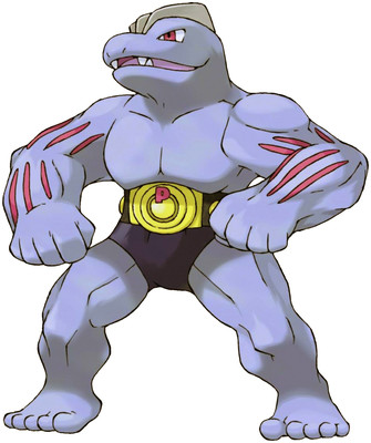 Machoke artwork by Ken Sugimori