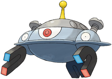 Magnezone artwork by Ken Sugimori