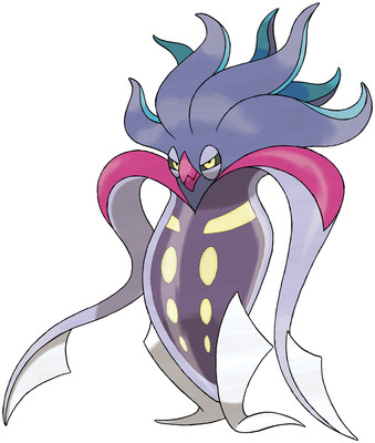 Malamar artwork by Ken Sugimori