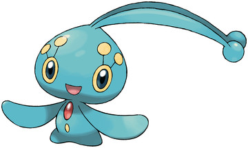 Manaphy artwork by Ken Sugimori