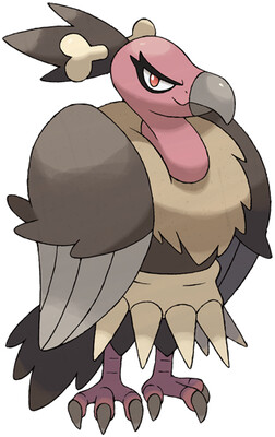 Mandibuzz artwork by Ken Sugimori
