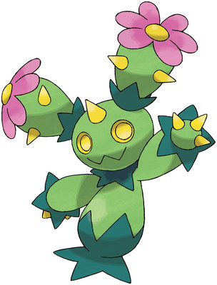 Maractus artwork by Ken Sugimori