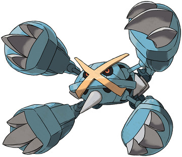 Metagross (Mega Metagross) artwork by Ken Sugimori
