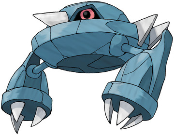 Metang artwork by Ken Sugimori