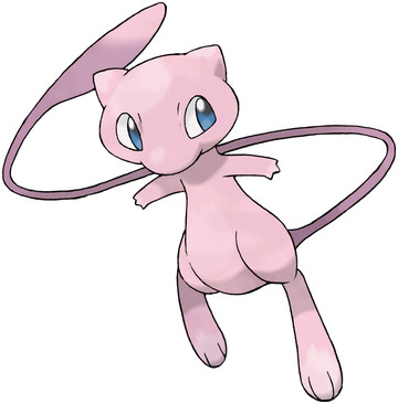 Mew artwork by Ken Sugimori