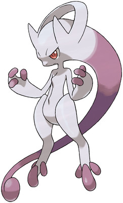 Mega Mewtwo Y artwork by Ken Sugimori