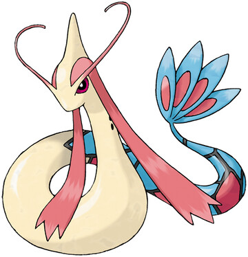 Milotic artwork by Ken Sugimori
