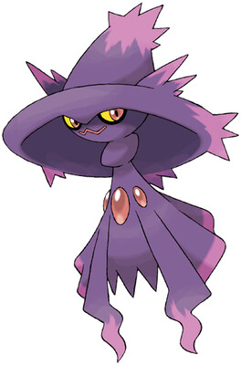 Mismagius artwork by Ken Sugimori