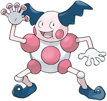 Mr. Mime artwork by Ken Sugimori