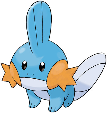 Mudkip artwork by Ken Sugimori