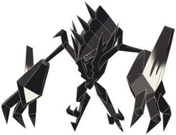 Necrozma artwork by Ken Sugimori