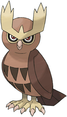 Noctowl artwork by Ken Sugimori