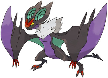 Noivern artwork by Ken Sugimori