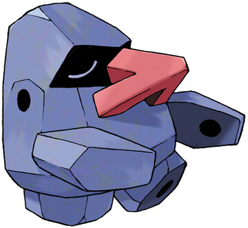 Nosepass artwork by Ken Sugimori