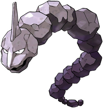 Onix artwork by Ken Sugimori