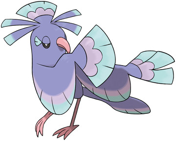 Oricorio (Sensu Style) artwork by Ken Sugimori