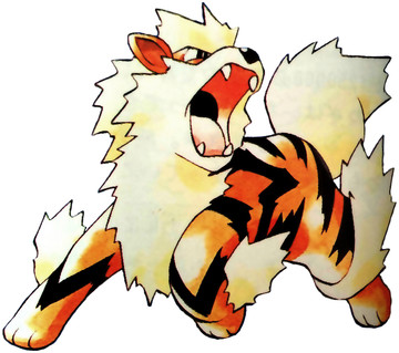 Arcanine Early Sugimori artwork