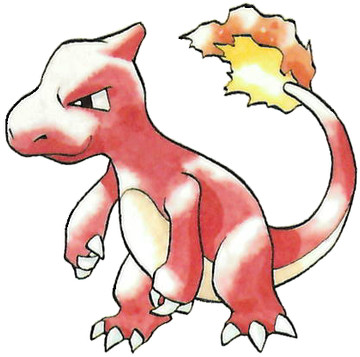 Charmeleon Early Sugimori artwork - Japan