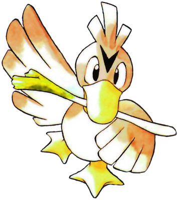 Farfetch'd Early Sugimori artwork